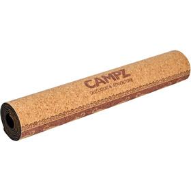 CAMPZ Cork Esterilla de Yoga M, marrón